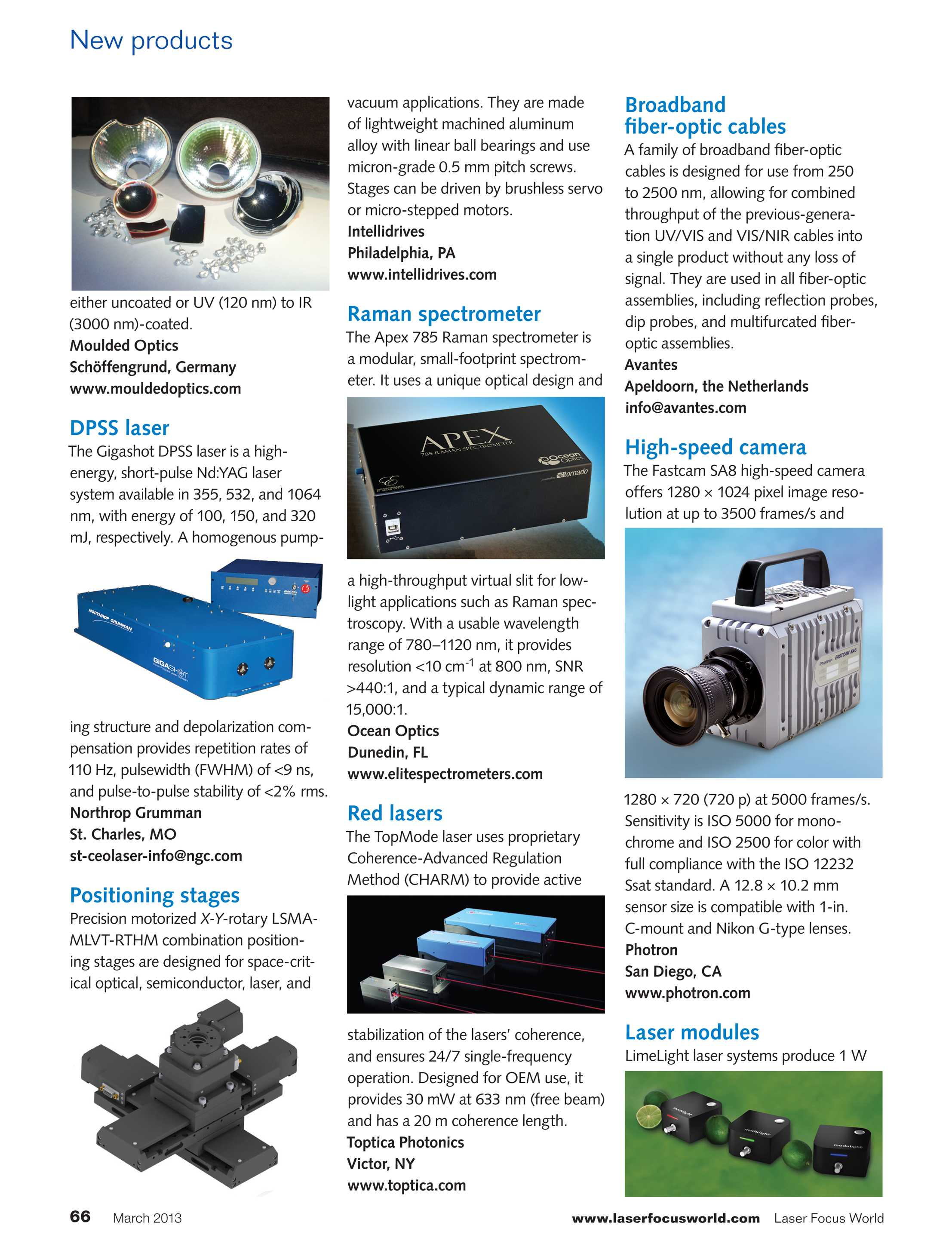 Laser Focus World - March 2013 - page 66