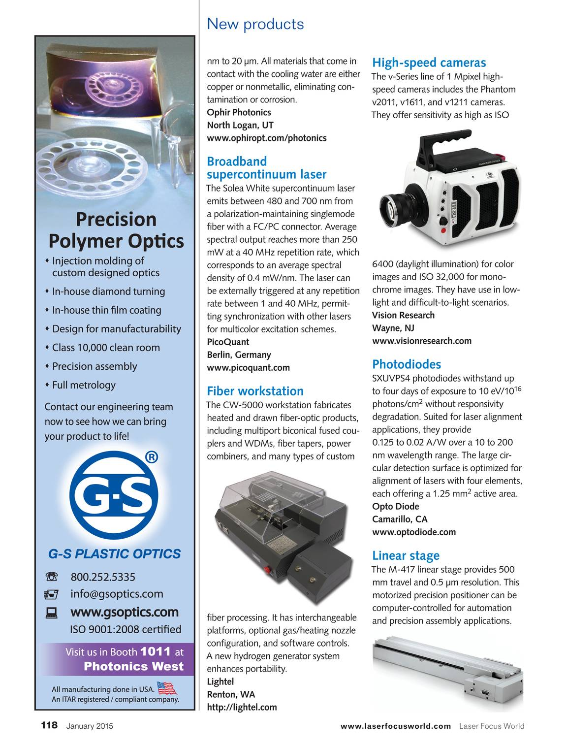 Laser Focus World - January 2015 - page 117