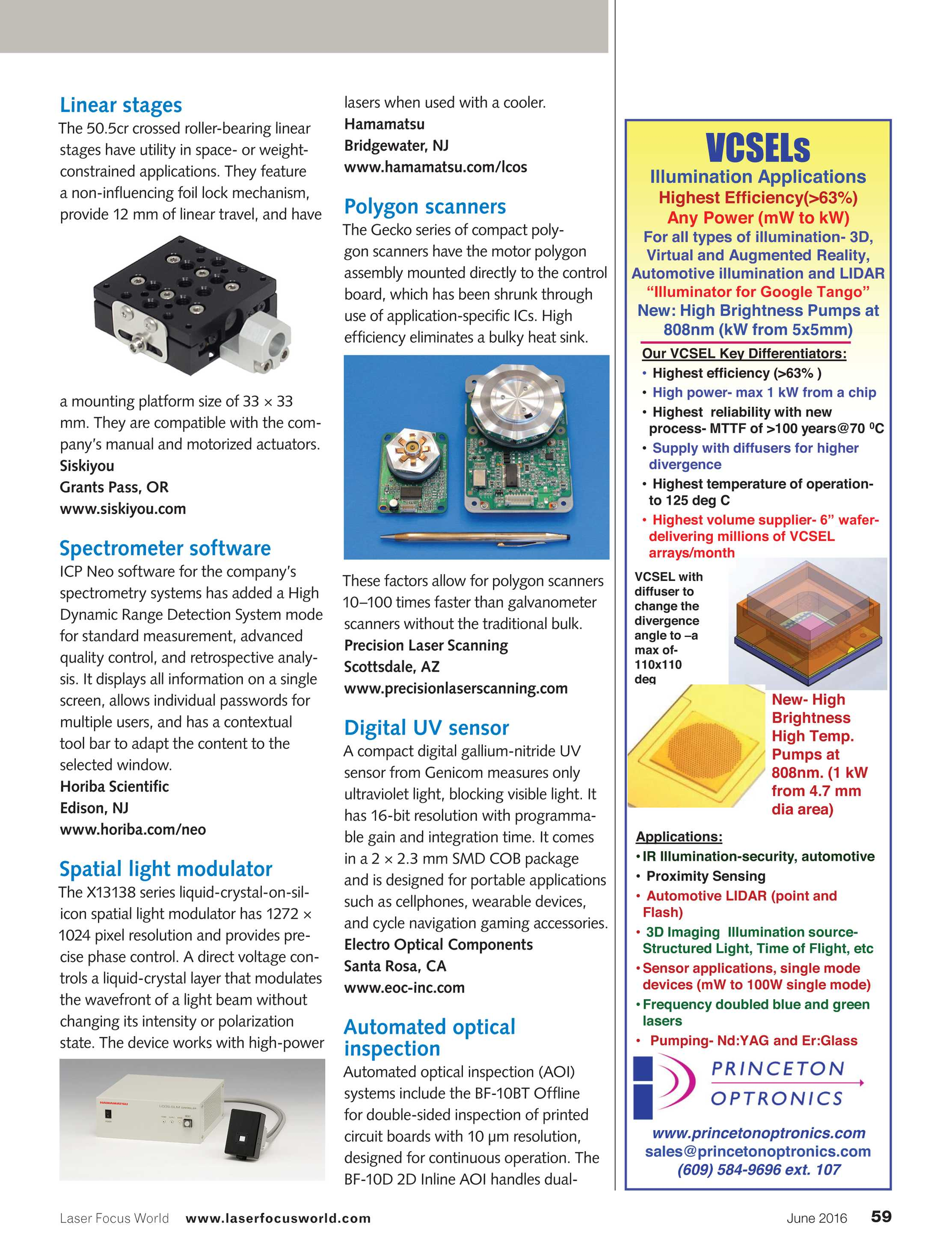 Laser Focus World June 2016 Page 59 Cutting Machine For Printed Circuit Boards With Inline Measuring