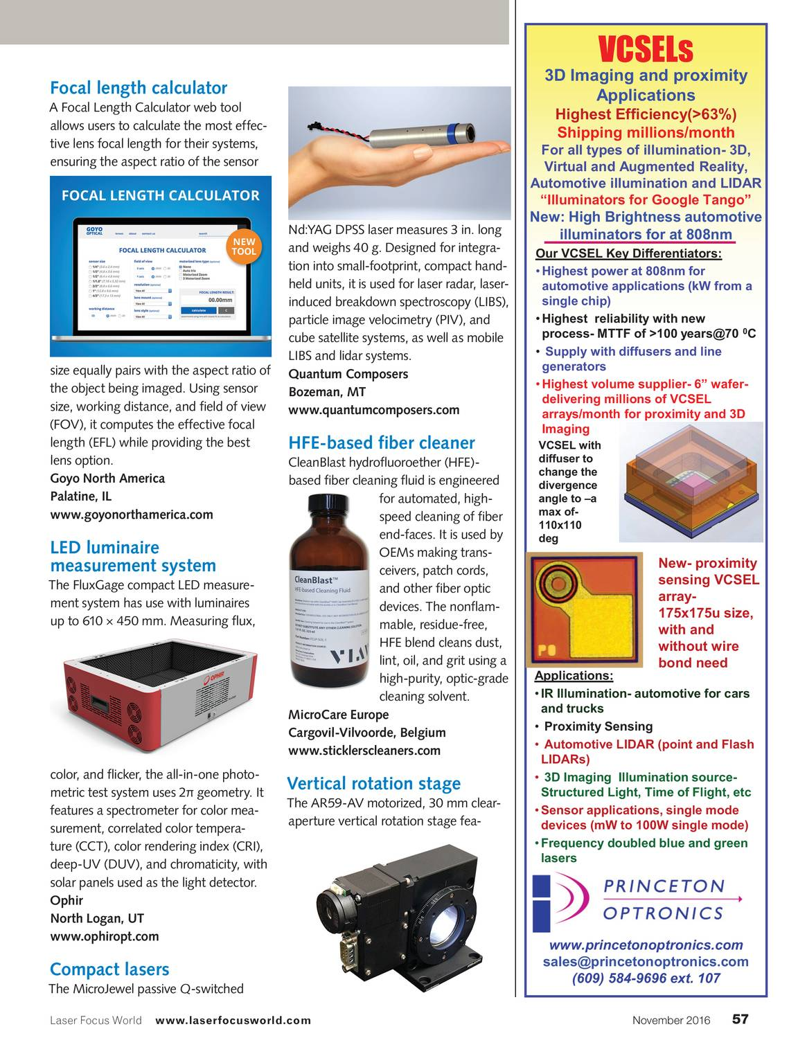 Laser Focus World November 2016 Page 57 Phase Wiring Microcare Solar Components
