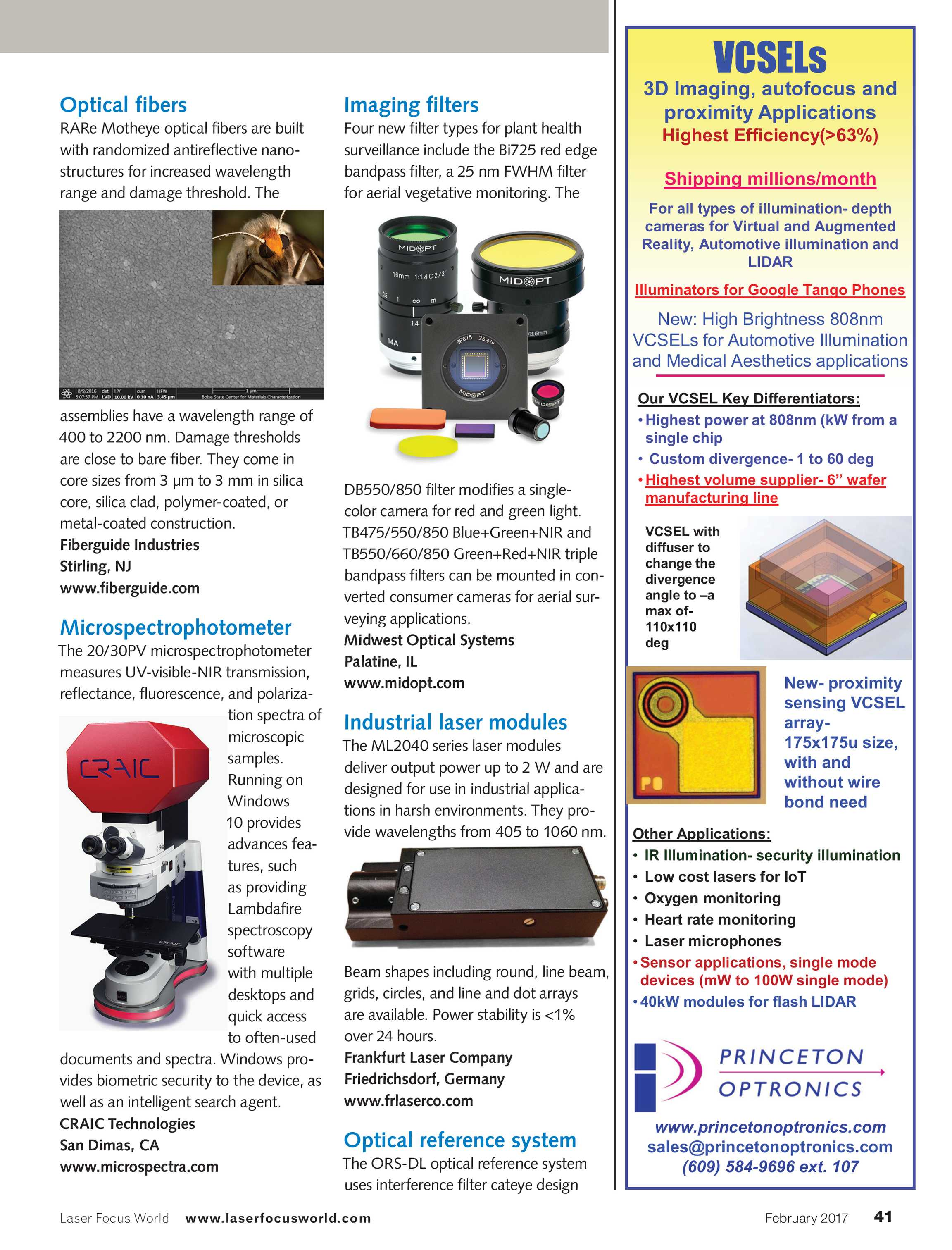 Laser Focus World - February 2017 - page 41